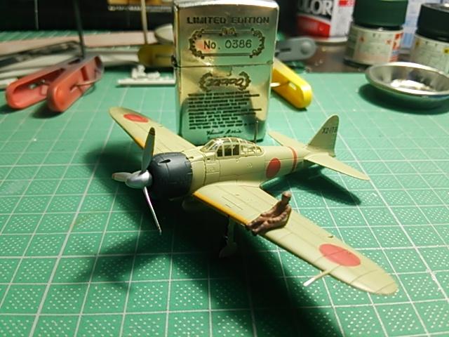 翼コレクション第18弾零戦飛行隊/現用艦船キットコレクションVol.1 その2