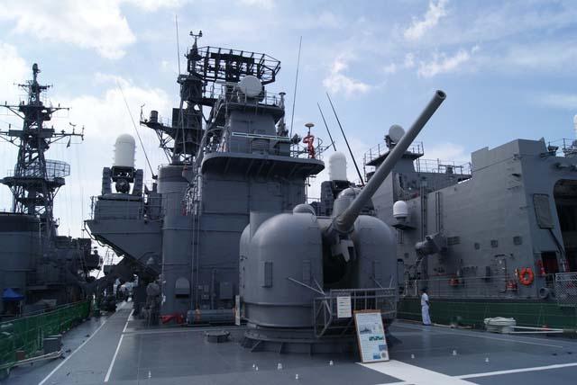 海上自衛隊佐世保基地 護衛艦「しまかぜ」一般公開