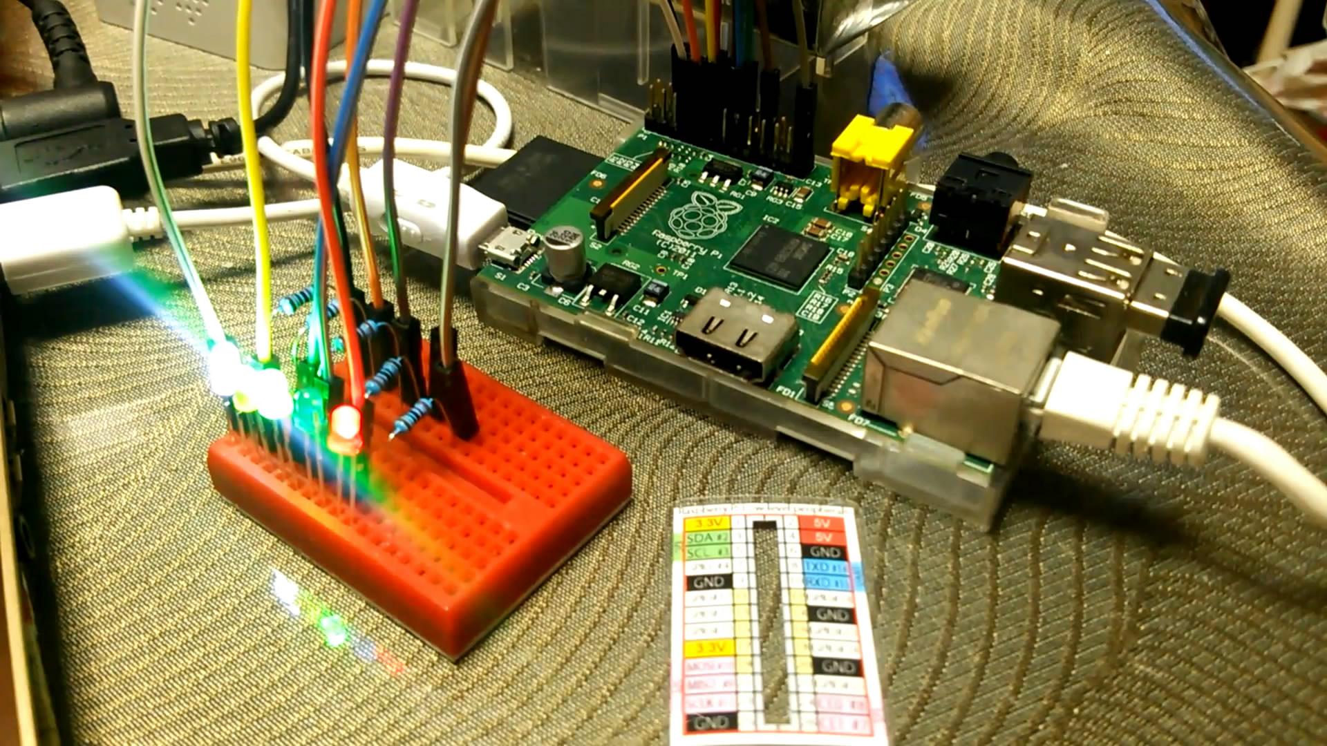 Raspberry Pi と Ruby で「Lチカ」をやってみました