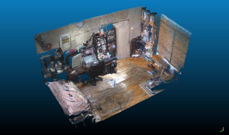 Linux で Kinect と RTAB-Map を使ってみました