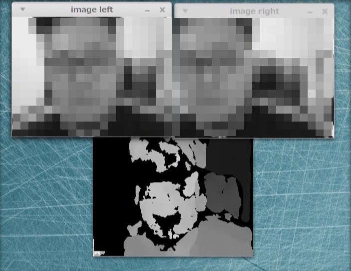 OpenCVでステレオマッチング(ステレオカメラ)