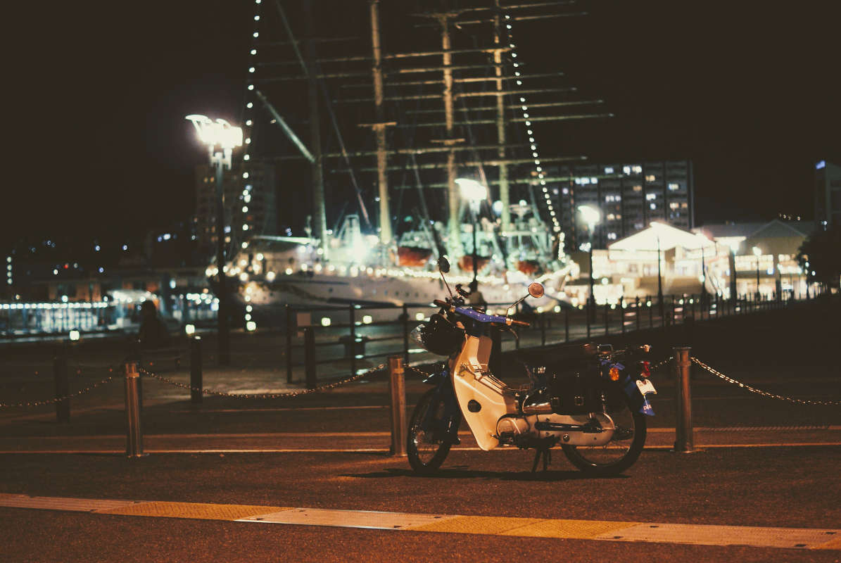 練習帆船『日本丸』を見てきました。