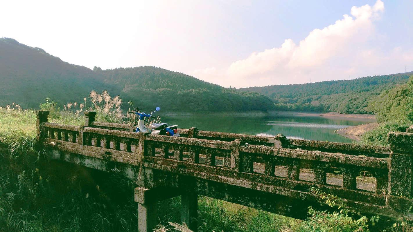里美町・郷美谷池に行ってきました。