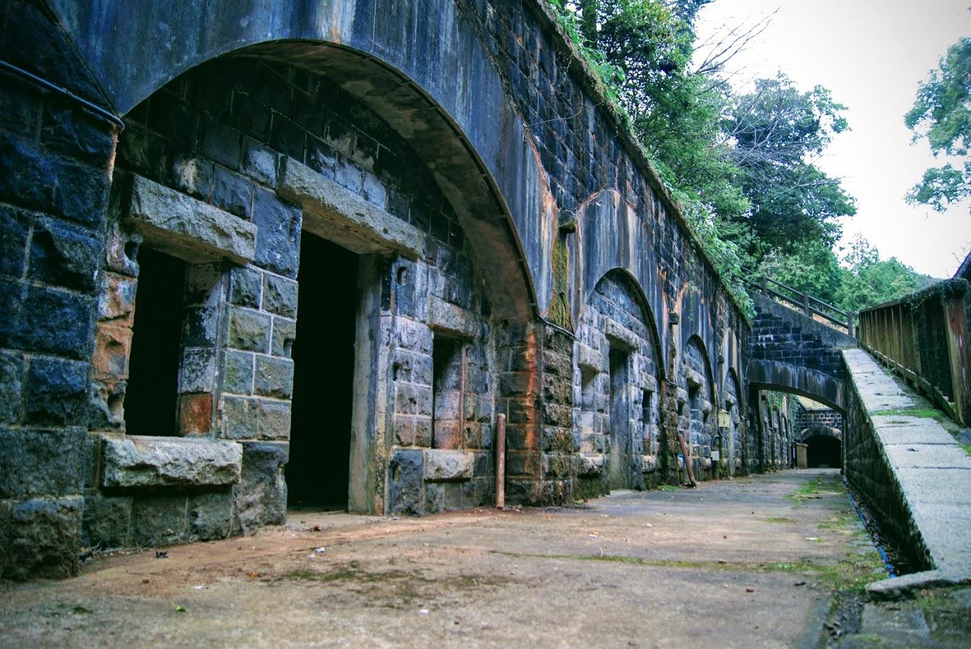 石原岳堡塁、干尽倉庫群に行ってきました。