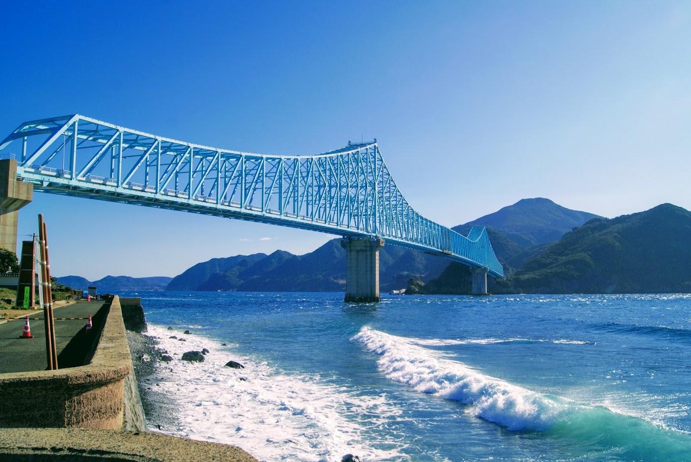 平戸島の宮ノ浦から生月大橋に行ってきました。