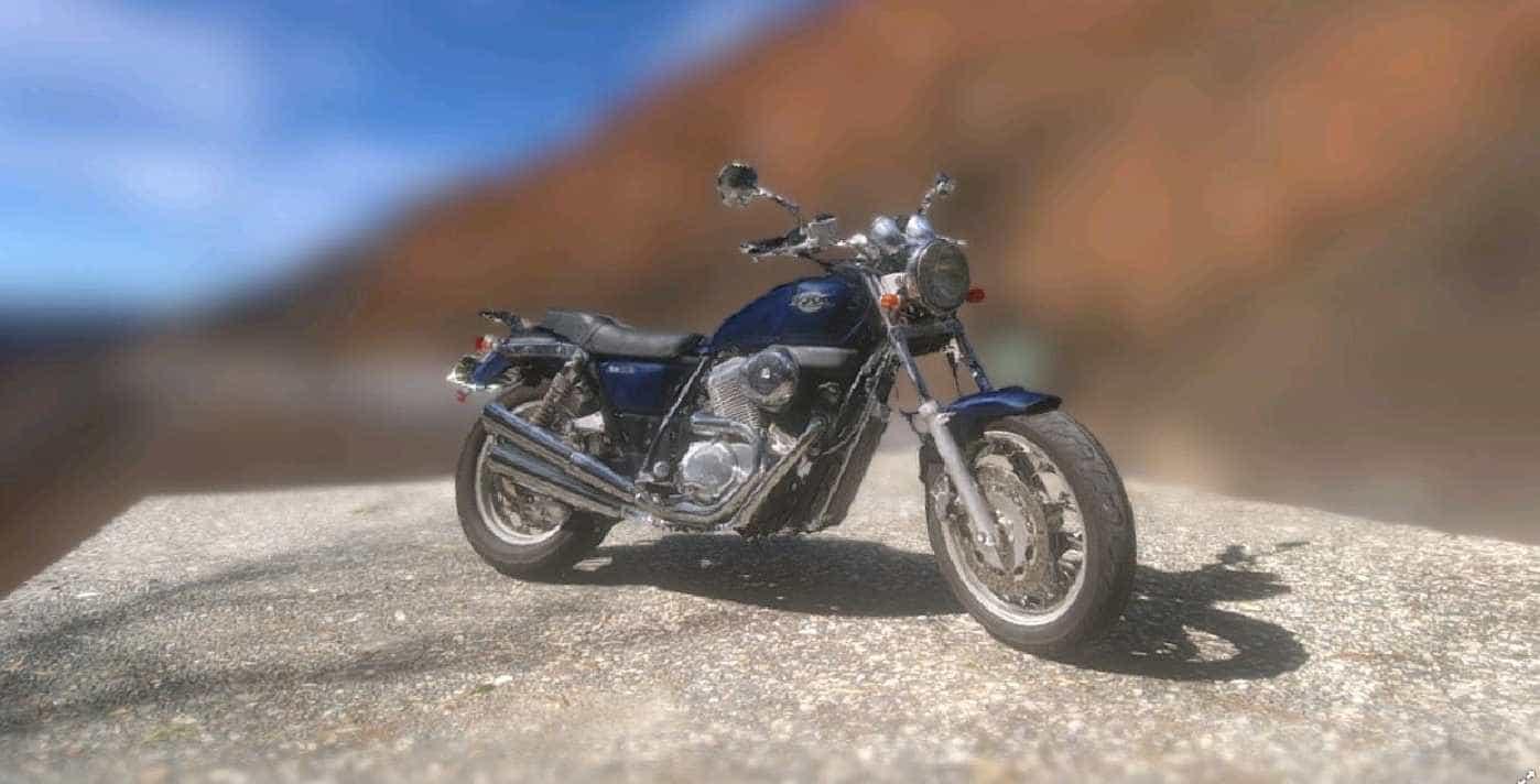 Honda VRX Roadster の 3D モデルを作ってみました。