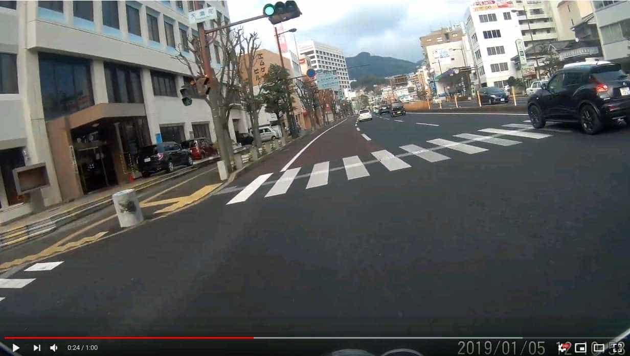 ffmpeg によるバイク走行動画のスタビライズ(手ぶれ補正)