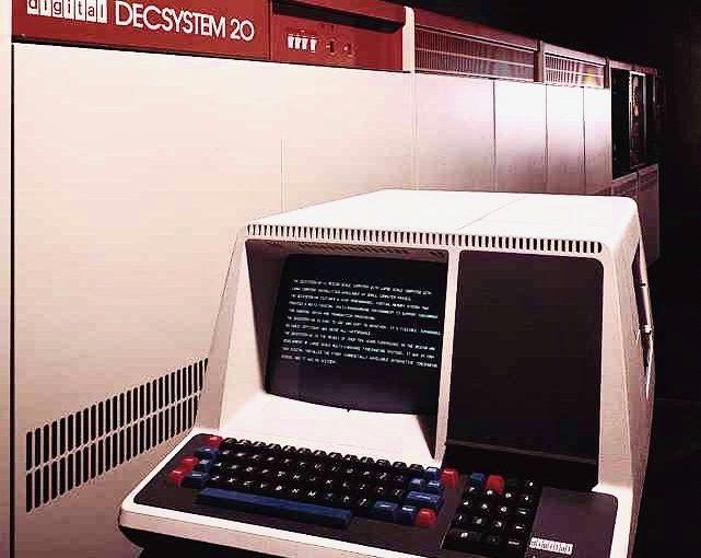 DEC PDP-10のOS、TWENEX(TOPS-20)を使ってみた。