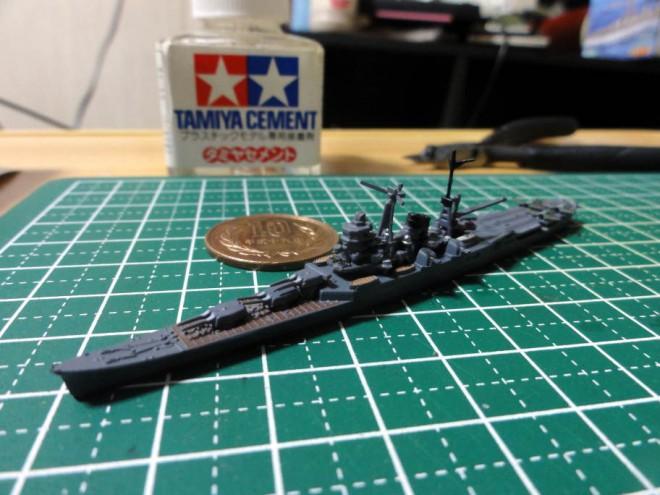 艦船キットコレクション Vol.6 スリガオ海峡 1/2000 航空巡洋艦「最上」