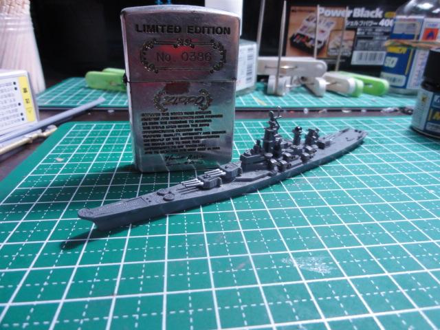 アオシマ 1/2000 戦艦ミズーリ1945