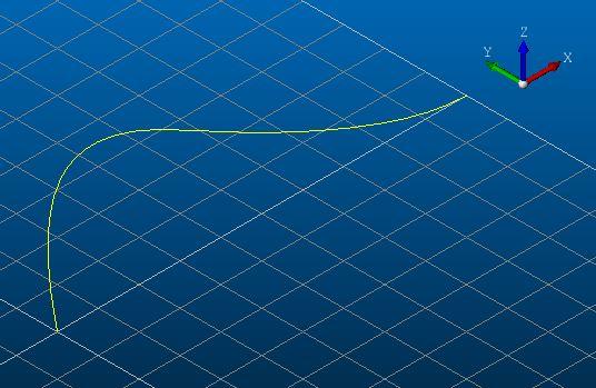 OpenCASCADE で NURBS 曲線を作成する
